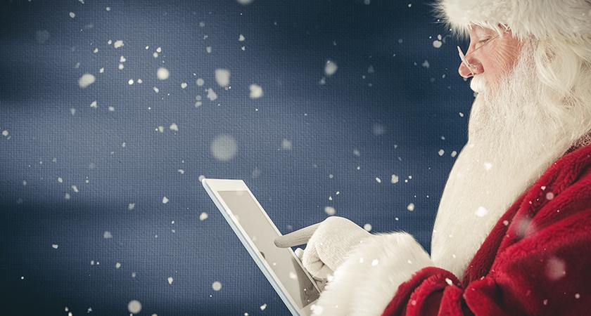 Demandez une Data Room au Père Noël !